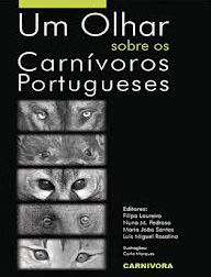 """Capa do livro """"Um Olhar Sobre os Carnívoros Portugueses"""""""