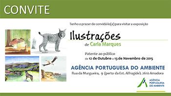 Exposição de Ilustrações na Agência Portuguesa do Ambiente – 2015